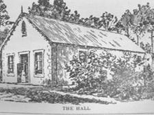 Wynberg's first school hall