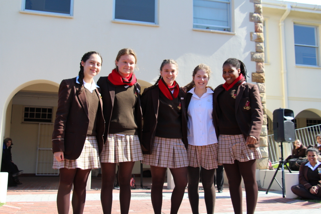 Cavanagh House and Matric Leaders