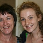 Meghan Daniels with her Mom