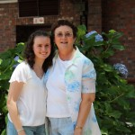 Elaine Petersen (Dux of 2011) and her Mom