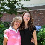 Christine Forbes (2nd in 2011) with her Mom