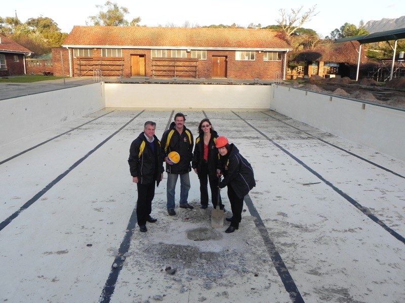 Wynberg girls high multipurpose pool upgrade - Deans community high school swimming pool ...