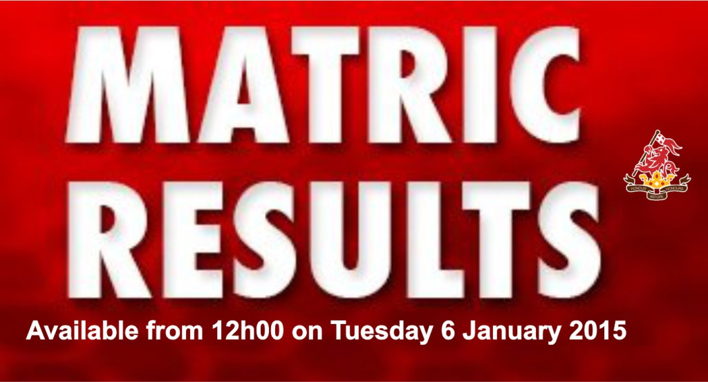 Matric results 2014