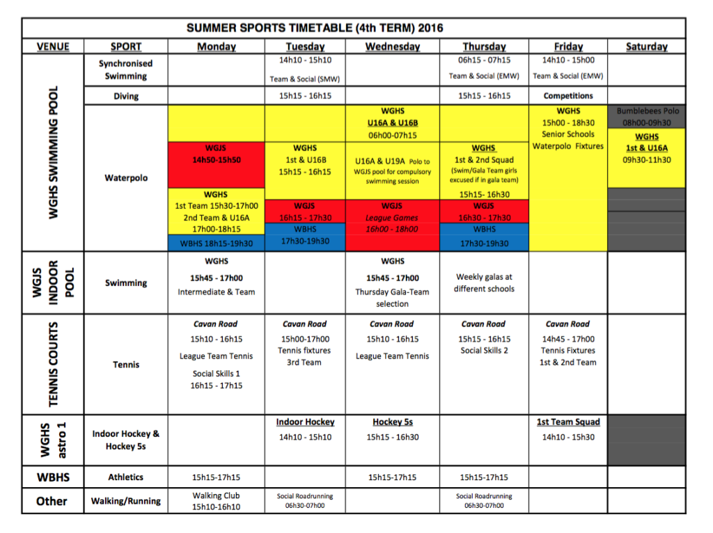 summer-sports-timetable-term-4-2016