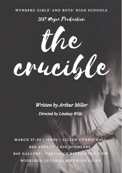 Poster The Crucible