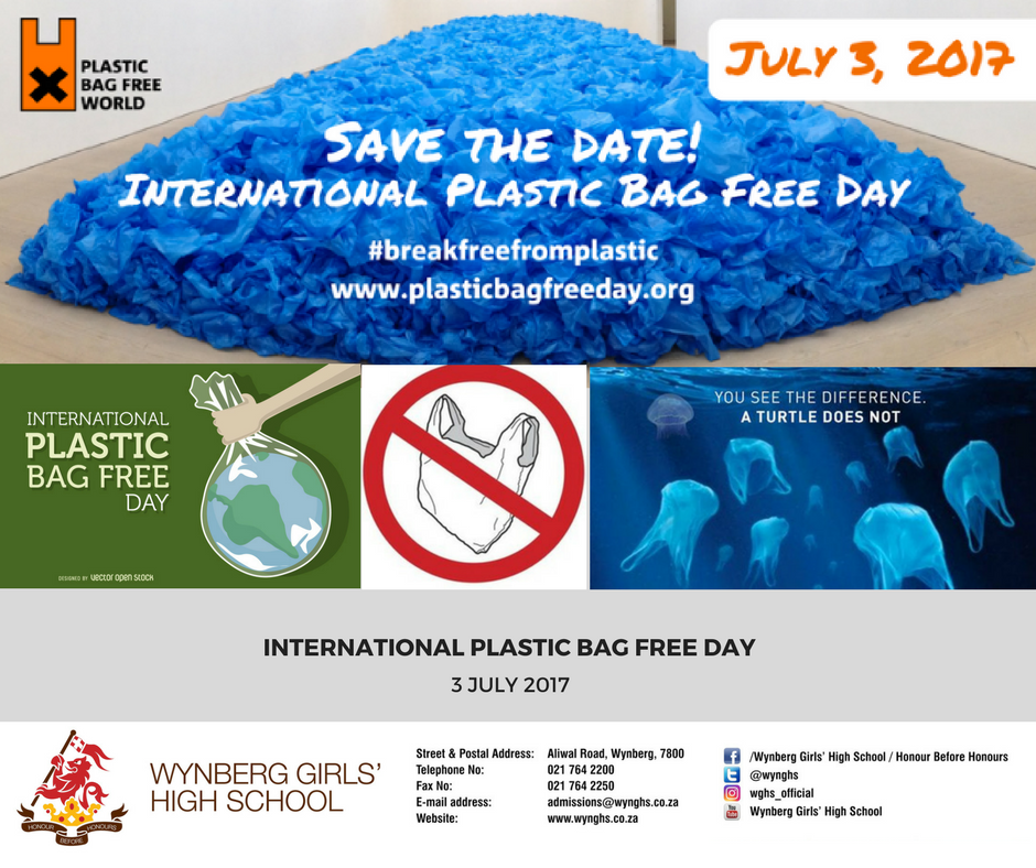 International Plastic Bag Free Day -
