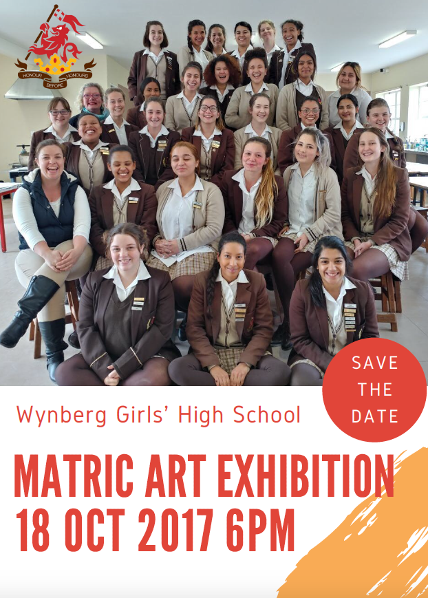 Save the Date Matric Art Exhibition
