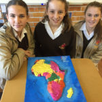 The map of colonised Africa - Tyla Hattingh, Courtney Billet, Jessica Ward