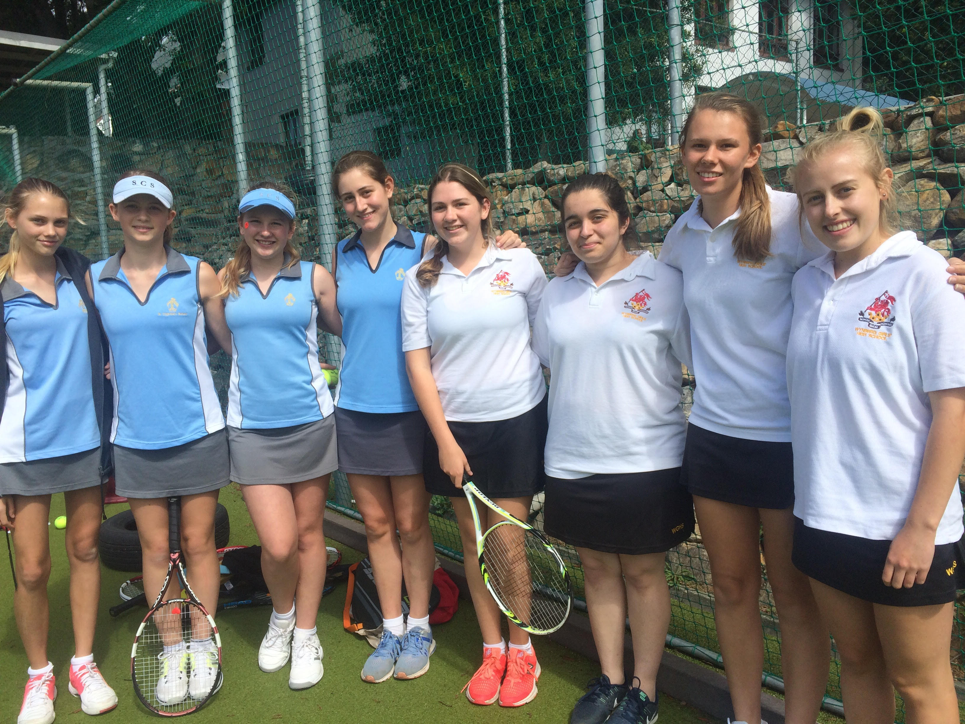 Wynberg and St Cyprian's 1st Tennis Team